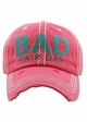 Bad Hair Day Embroidered Baseball Hat inset 3