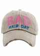 Bad Hair Day Embroidered Baseball Hat inset 4