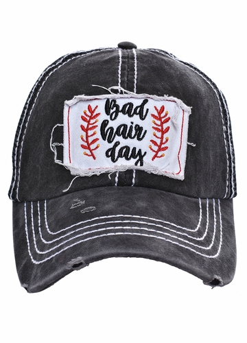 Bad Hair Day Mesh Trucker Cap