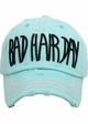Bad Hair Day Vintage Cotton Baseball Hat inset 3