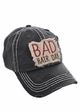 Bad Hair Day Washed Vintage Baseball Cap inset 1
