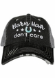 Barn Hair Don't Care with Stars Trucker Hat inset 1
