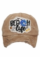 Beach Life Vintage Patch Baseball Hat inset 1