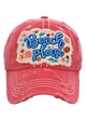 Beach Please Embroidered Baseball Hat inset 1