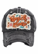 Beach Please Embroidered Baseball Hat inset 2