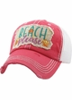 Beach Please Seashell Trucker Hat inset 1