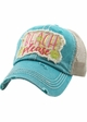 Beach Please Seashell Trucker Hat inset 2