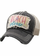 Beach Please Seashell Trucker Hat inset 3