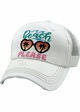 BEACH PLEASE Vintage Meshback Baseball Hat inset 2