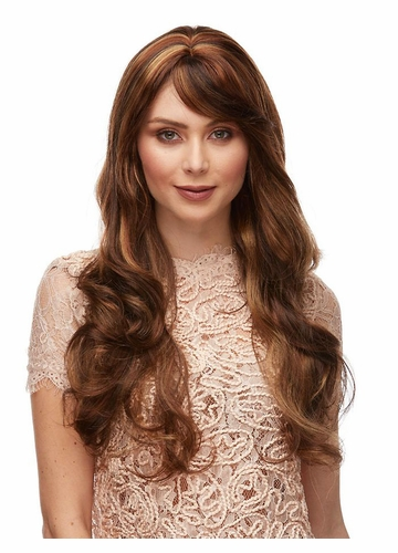 Long Curly Wig with Bangs Broadway