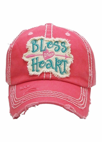 Bless Your Heart Patch Baseball Hat