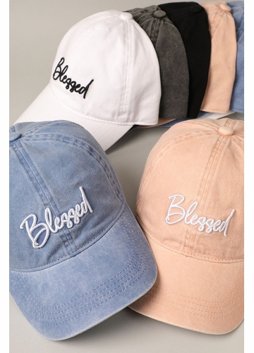 Blessed Embroidered Baseball Cap