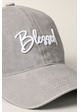 Blessed Embroidered Baseball Cap inset 1