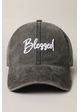 Blessed Embroidered Baseball Cap inset 2
