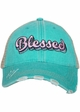 Blessed Trucker Hat with Layered Font inset 1