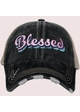 Blessed Trucker Hat with Layered Font inset 2