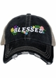 Blessed with Flowers Trucker Hat inset 1