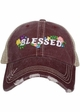 Blessed with Flowers Trucker Hat inset 3
