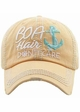 Boat Hair Don't Care Baseball Hat inset 4