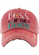 Boss of the Chaos Vintage Patch Baseball Hat inset 2