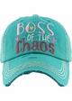 Boss of the Chaos Vintage Patch Baseball Hat inset 3