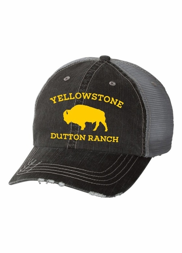 Buffalo Yellowstone Dutton Ranch Trucker Hat