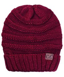 Burgundy CC Hats, Gloves and Scarves