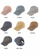 C.C Metallic Stretchy Big Pony Cap inset 1