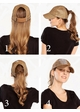 C.C Metallic Stretchy Big Pony Cap inset 2