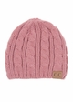 Cable Knit CC Beanie Hat inset 3