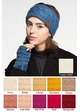 Cable Knit CC Brand Headband with Plush Lining inset 4