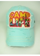 Camp Life Embroidered Patch Hat inset 1