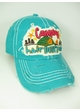 Camping Hair, Don't Care Washed Vintage Baseball Cap inset 1