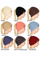 CC Beanie Hat with Open Ponytail  inset 1