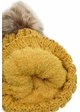 CC Beanie Hat with Warm Lining and Fur Pom Pom in Confetti inset 4