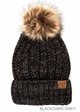 CC Beanie Hat with Warm Lining and Pom Pom in Multi Color inset 4