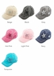CC Brand Ponytail Baseball Hat with Stars inset 1