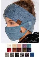 CC Button Headband for Easy Mask Wear