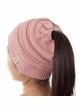 CC Cotton 365 BeanieTails Hat with Open Ponytail  inset 3