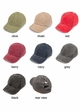 CC Cotton Ladder Back Ponytail Baseball Hat inset 1