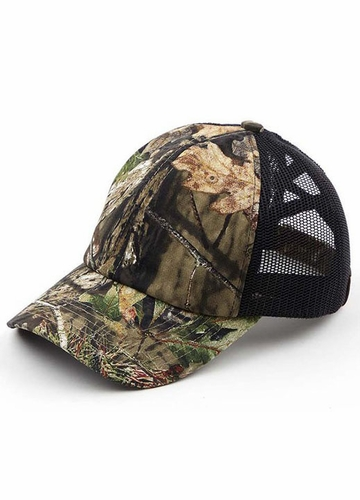 CC Criss Cross Ponytail Mossy Oak Mesh Back Cap