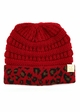 CC Kids Animal Print Beanie Hat inset 3