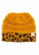 CC Kids Animal Print Beanie Hat inset 4