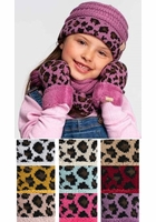 CC Kids Animal Print Scarf
