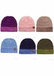 VERY LIMITED CC Knit Beanie Hat with Two Tone Cuff inset 1