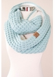 CC Knit Scarf with Sherpa Lining inset 4
