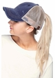 CC Mesh Back Ponytail Trucker Hat inset 3