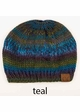 CC Ponytail Beanie in Chunky Multi Color Knit inset 4