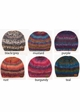 CC Ponytail Beanie in Chunky Multi Color Knit inset 1