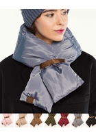CC Puffer Quilted Scarf
